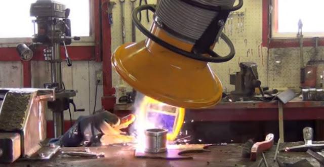 Cara mengelas besi Hollow Galvanis dengan aman