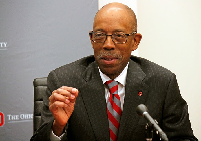Michael V. Drake, new President of The Ohio State University creates scandal during his first month in office. This does not bode well for his judgment and leadership.