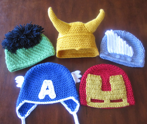 Avengers Assemble - Free Patterns