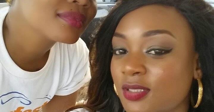 Actress Irene Uwoya And Kajala Have Been Throwing Shade At -8647
