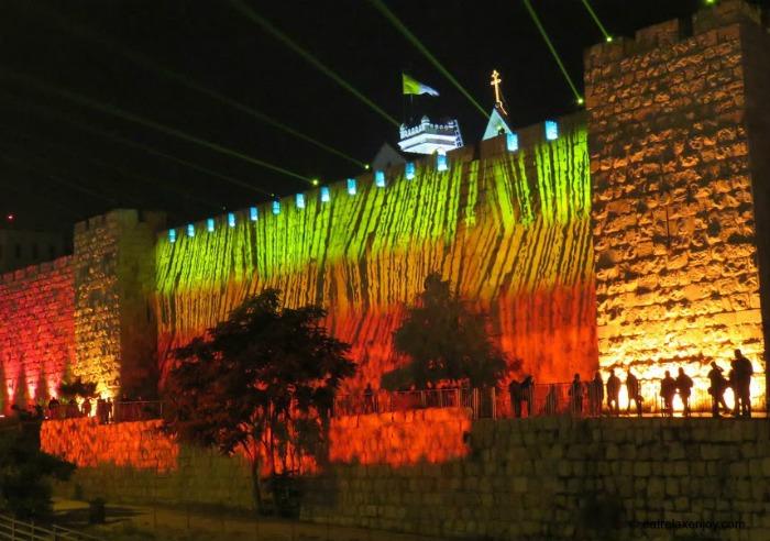 פסטיבל אור ירושלים 2016