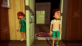 Hello Neighbor Hide and Seek PS4 Background
