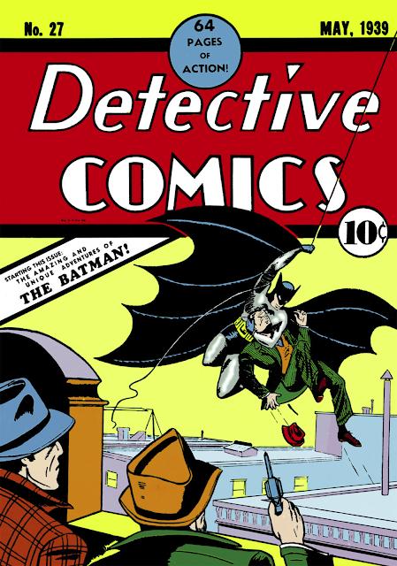 Portada de Detective Comics #27, de Bob Kane