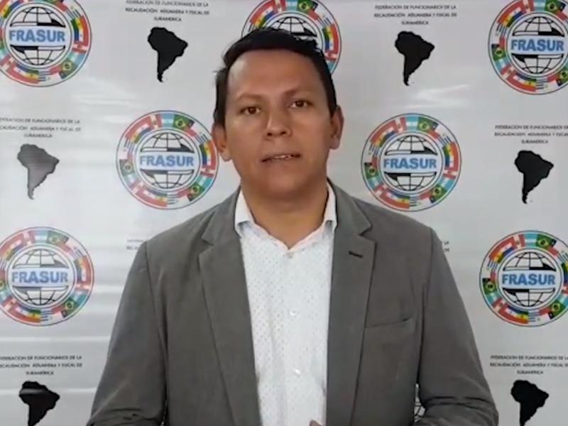 Saludo presidente de FRASUR a trabajadores de la Dian