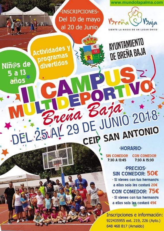 BREÑA BAJA: II Campus Multideportivo
