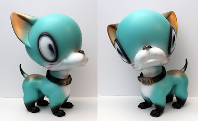 Brutus Teal Edition Vinyl Figure by Brandt Peters x Gums Productions