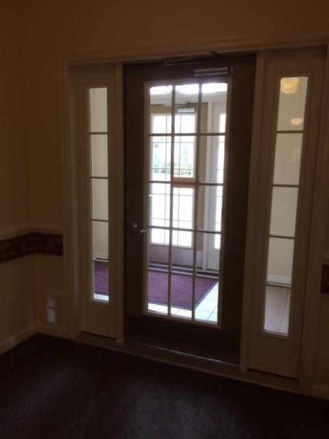 Locked Door Foyer Bonfire : My next years of living the condo path to front door