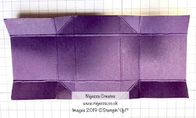 No Glue Mini Treat Box Stampin' Up! Nigezza Creates