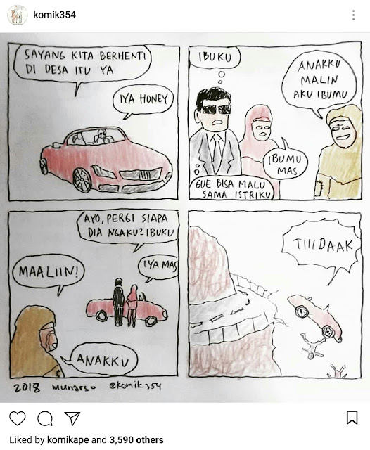 Komik354! Tidak Hanya Bijak, Tapi Juga Menghibur - Blog Mas Hendra