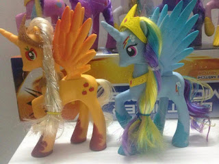 MLP Princess Applejack & Rainbow Dash Fakies
