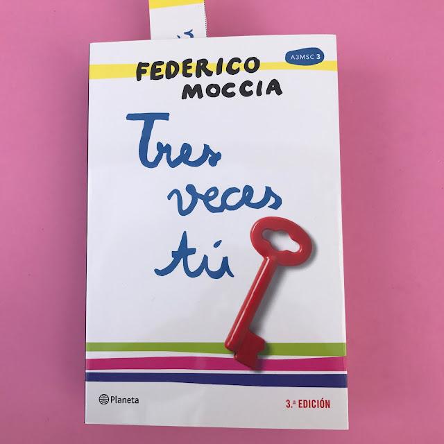 Libro Tres veces tu, Federico Moccia