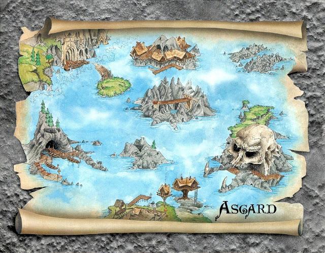 Mapa Heimdall