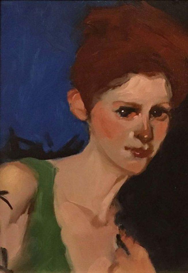 Фигуративные картины женщин и детей. Linda Kyser Smith