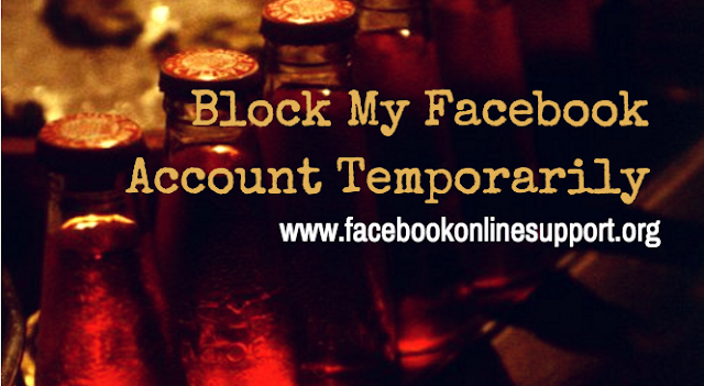 Block My Facebook Account Temporarily
