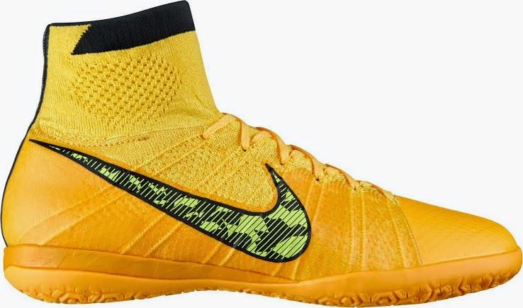 f6bbc7ba3ac1 Orange Nike Elastico Superfly IC and TF Boot   FOOTY FAIR