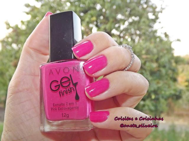 Esmalte Pink Extravagante Avon Mark