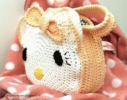 Hello Kitty toilettasje | gehaakt | patroon te koop of compleet haakpakket