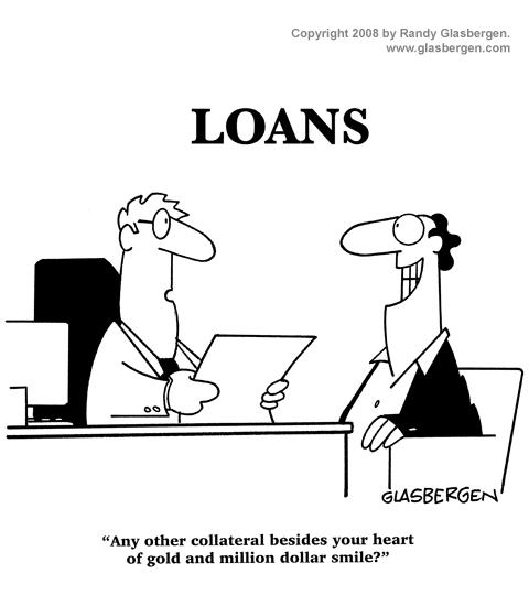 Presumptuous Politics: Borrowing from the Bank Cartoons