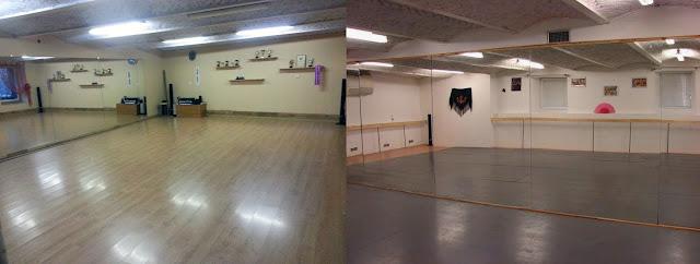 танцевальный зал в центре Риги