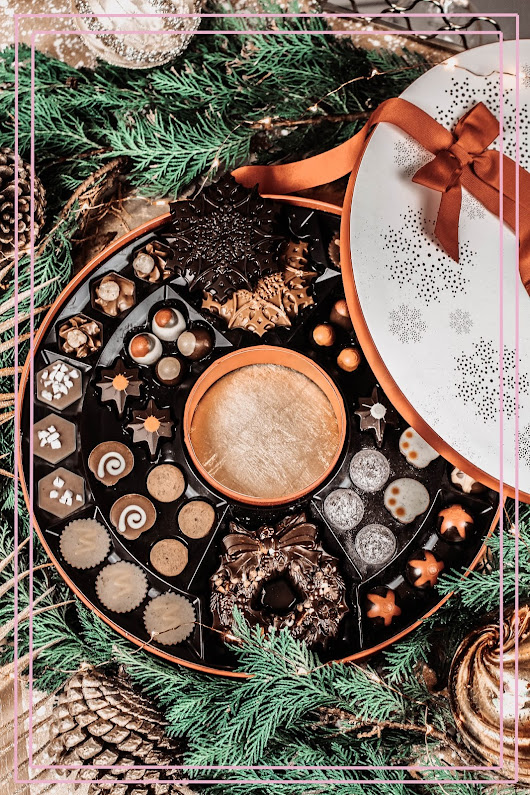 Hotel Chocolat Christmas Wreath | Worldwide Giveaway!