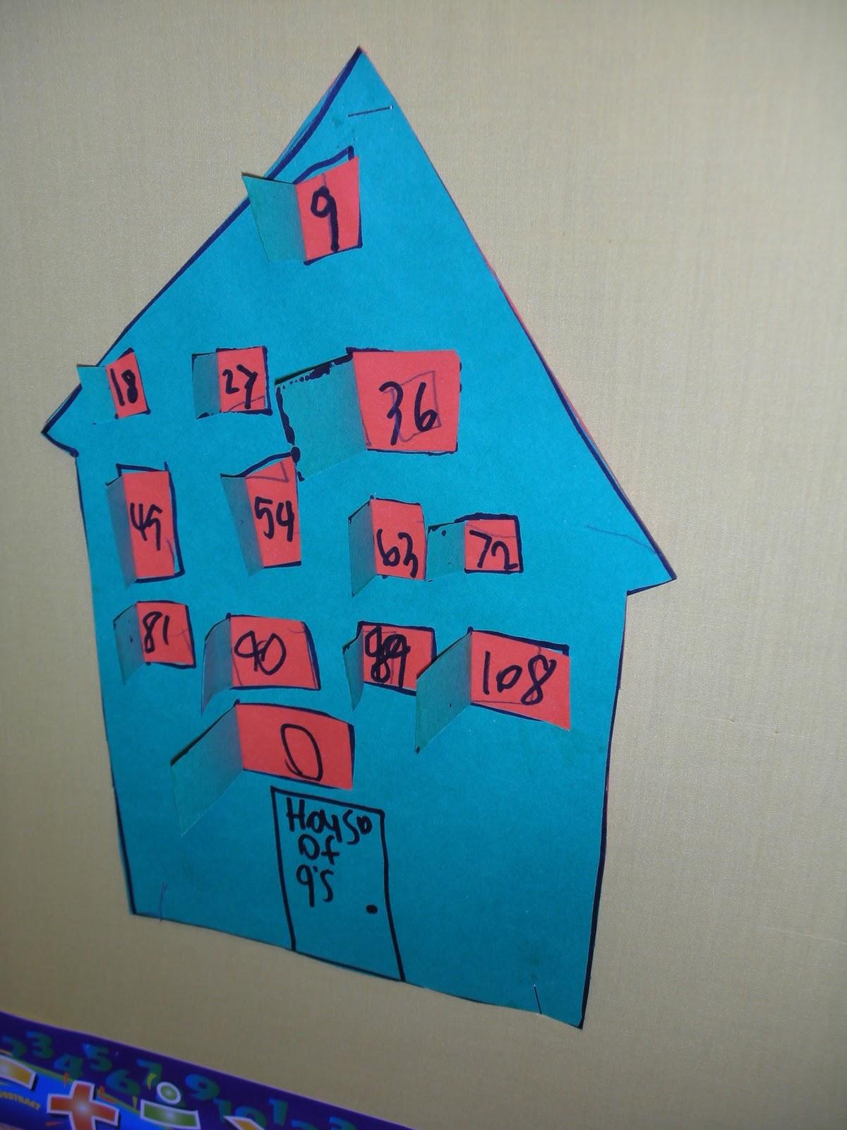 Treadwell S Teaching Adventures Multiplication Houses