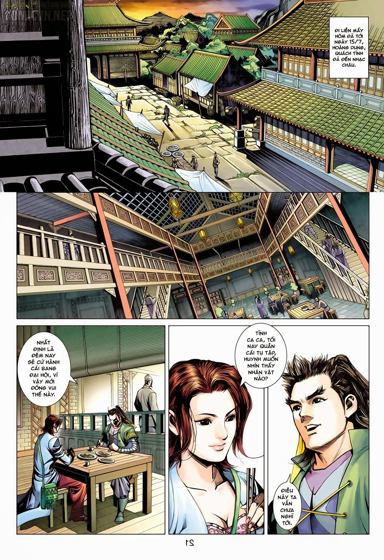 Anh Hùng Xạ Điêu anh hùng xạ đêu chap 65: cái bang tân chủ trang 21