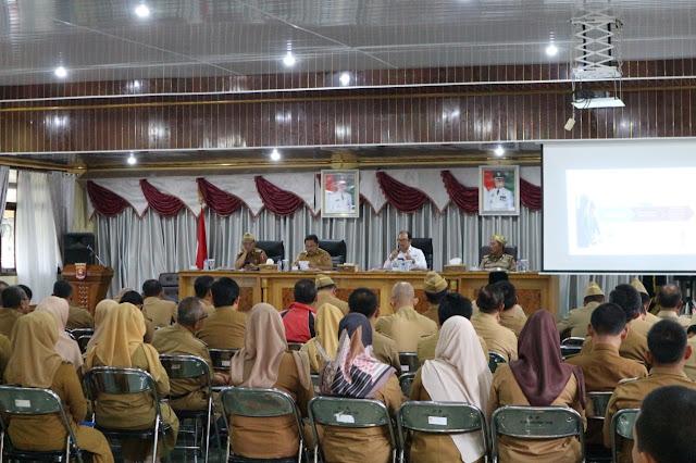 Pemkab Lambar Komitmen Tingkatkan Pelaksanaan SPIP