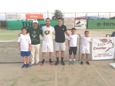 """Ολοκληρώθηκε το 11ο Τουρνουά Τένις """"Open Athlisis Cup 2018 Men & Women"""""""