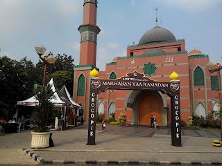 Masjid Baitussalam, Billy & Moon, Pondok Kelapa, Jakarta Timur