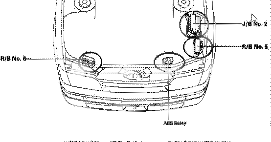 Buick Lucerne 2009 Underhood Fuse Box Diagram