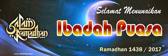 Banner Ramadhan 2017 Biru