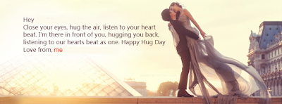 Romantic Happy Hug Day 2017 Cover Facebook Photos Pics