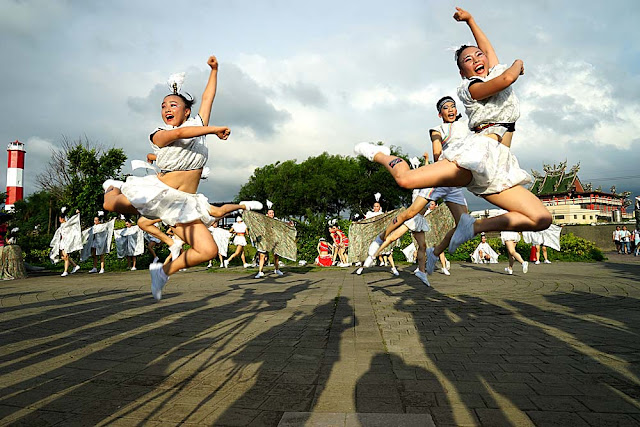 DSC02242 - 熱血採訪│2016首屆台中國際踩舞祭超夯登場,文華高中快閃高美濕地