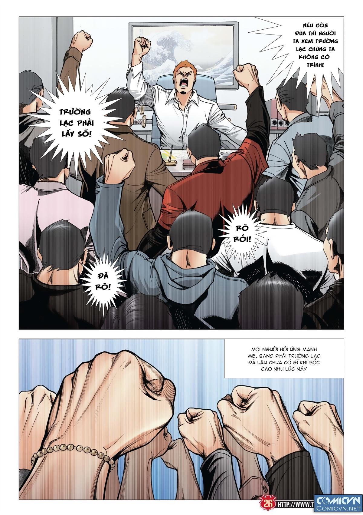 Người Trong Giang Hồ chapter 2011: hàn tân bỏ trốn trang 24