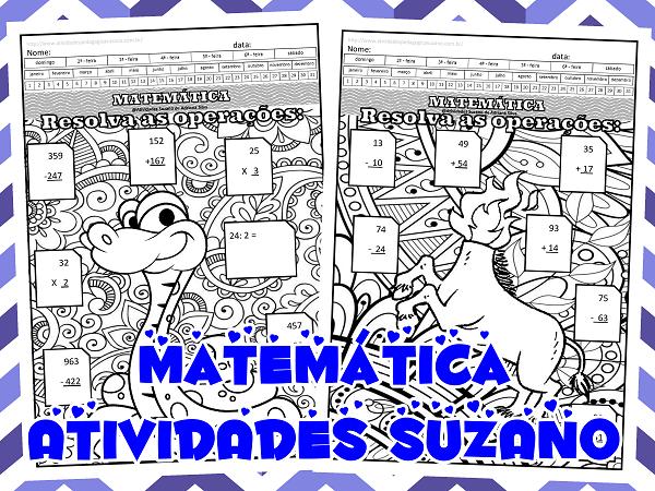 matematica-operações-divisão-multiplicação-subtração-atividades-suzano