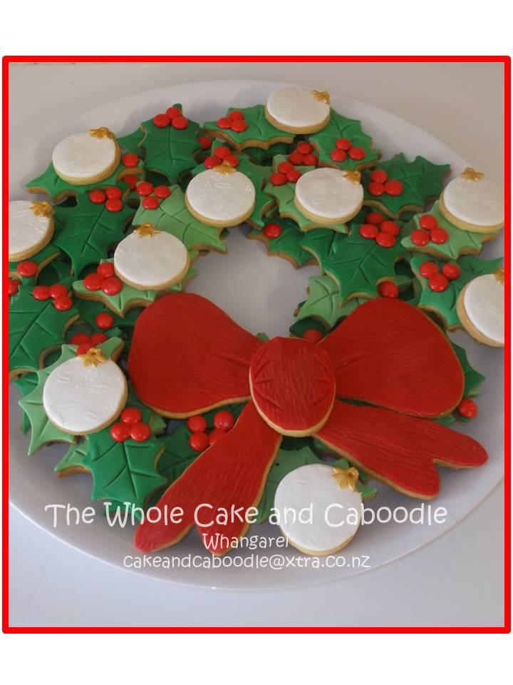 Kiwi Cakes Fun Holly Cookies For Christmas