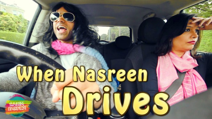 #whennasreendrives #rahimpardesi #rahimpardesinewvideo #nasreen #nasreendriving