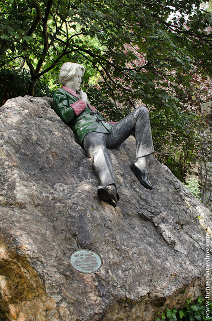 Oscar Wild Merrion Square Dublin Irlanda