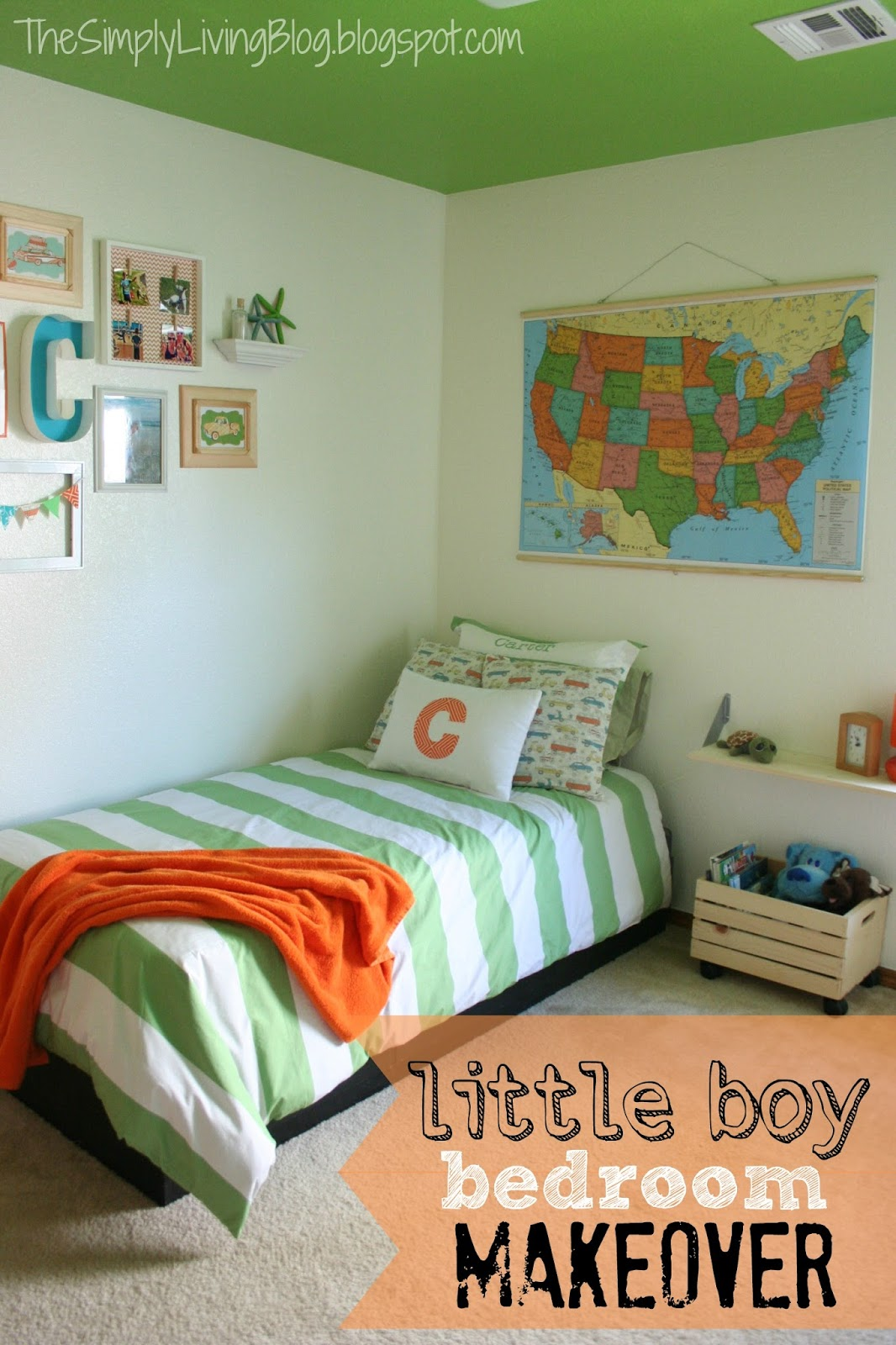 terrific little boy bedroom decorating ideas | Simply Living : Little Boy Bedroom Makeover