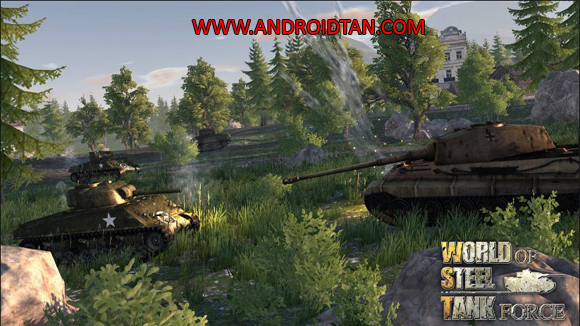 World Of Steel Tank Force Mod Apk for Android