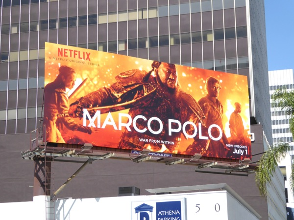 Marco Polo season 2 billboard