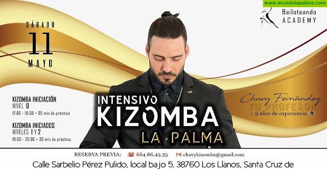 Intensivo de Kizomba con Chavy Fernández en La Palma