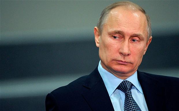 """O presidente da Rússia, Vladimir Putin, foi eleito pelo quarto ano consecutivo, o homem mais poderoso do mundo pela revista """"Forbes"""""""