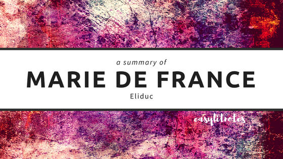 summary of marie de france's eliduc