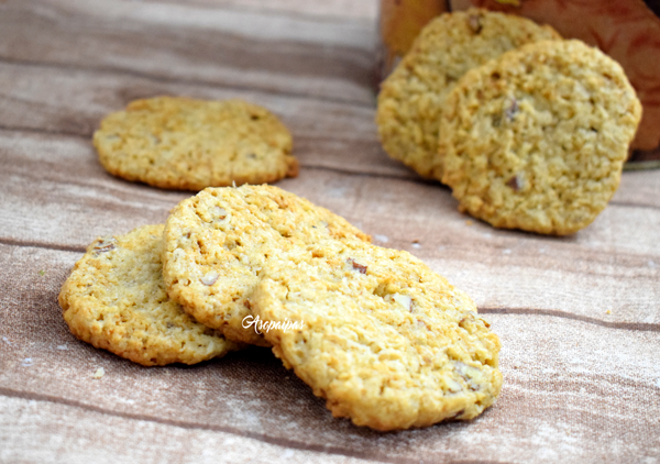 Galletas de Avena y Coco (Overnight Oatmeal Cookies)