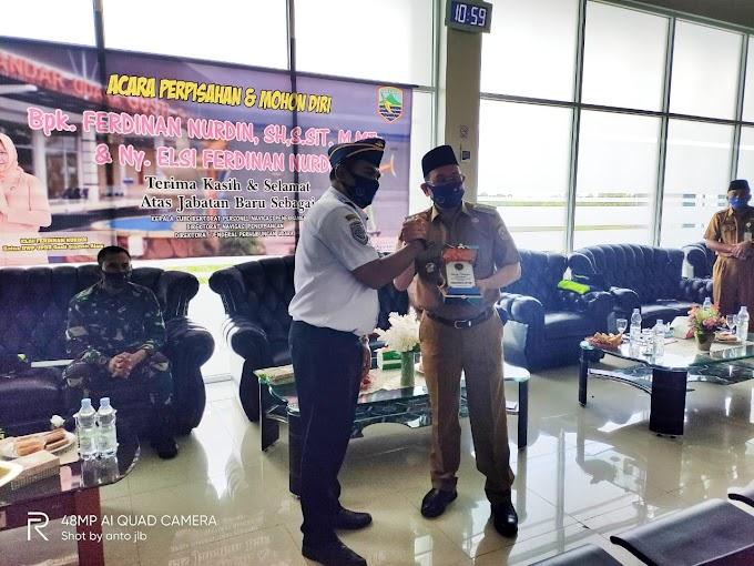 Kepala Bandara Stagen Kotabaru Pamit Mutasi ke Jakarta