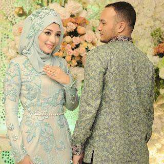 kebaya pernikahan hijab