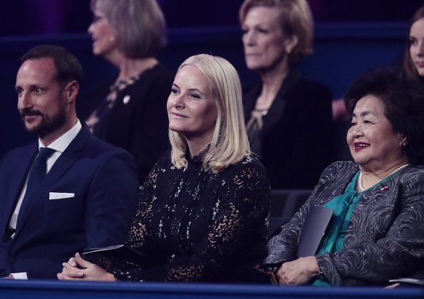 Crown Prince Haakon, Crown Princess Mette Marit, Princess Ingrid Alexandra and Prince Sverre Magnus