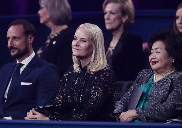 Crown Prince Haakon, Crown Princess Mette Marit, Princess Ingrid Alexandra and Prince Sverre Magnus