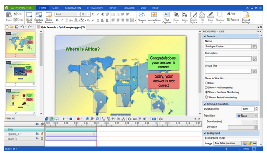 ActivePresenter 6.1.3 Free Download